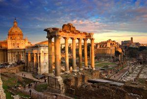 osnovan grad Rim