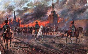 Rusija, Francuska, Napoleon