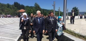 Bill Clinton Srebrenica
