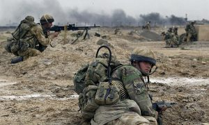 Irak, rat