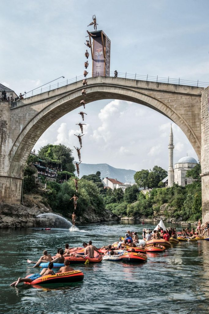 Mostar, Red Bull Cliff Diving