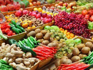 pijaca, voće, povrće