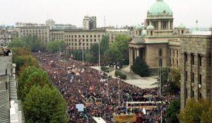 protesti Beograd, 2000