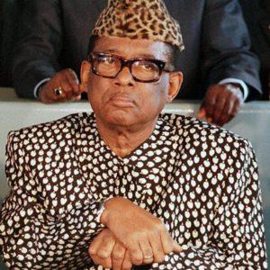 Joseph Desire- Mobutu, Mobutu Sese Seko