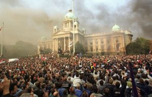 protesti, Beograd, 05. oktobar