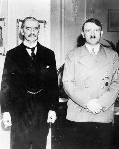 Arthur Chamberlain i Adolf Hitler