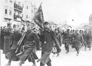 Skoplje, partizani