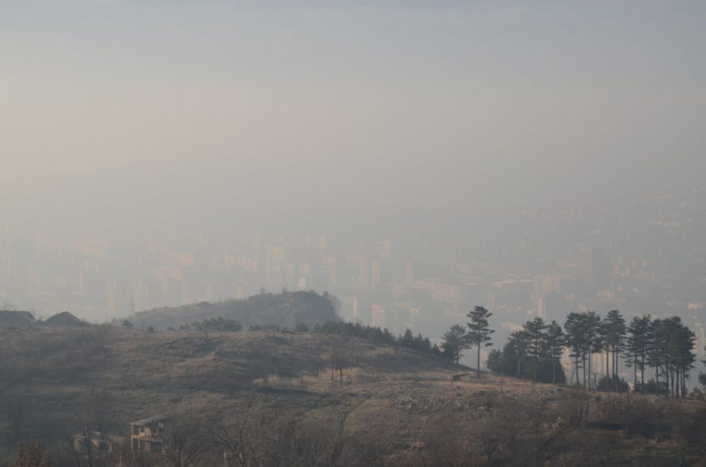 Sarajevo, zagađenje