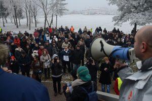 Protesti, Slavonski Brod, foto: Ajdin Kamber