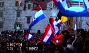 Hrvatska 15.01.1992