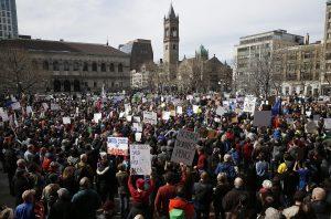 Boston, protest