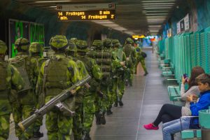 Švedska, vojska