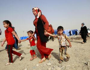 Mosul, izbjeglice