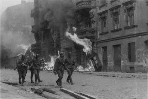 Ustanak Jevreja u Varšavi, Warsaw uprising