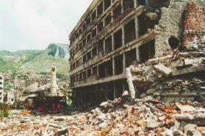 rat, BiH, Mostar