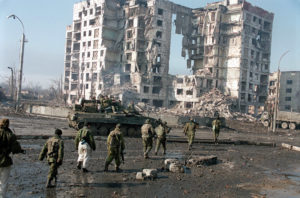 Čečenija, rat