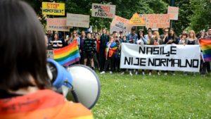 LGBTI protesti, Sarajevo