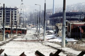 Sarajevo, rat