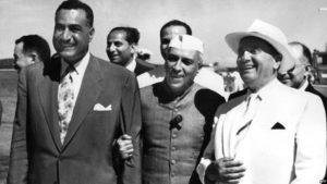 Gamal Abdel Nasser,  Jawaharlal Nehru, Josip Broz Tito