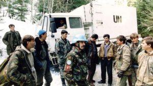 Holandski vojnici u Srebrenici 1994. godine