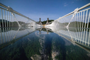 Kina, stakleni most