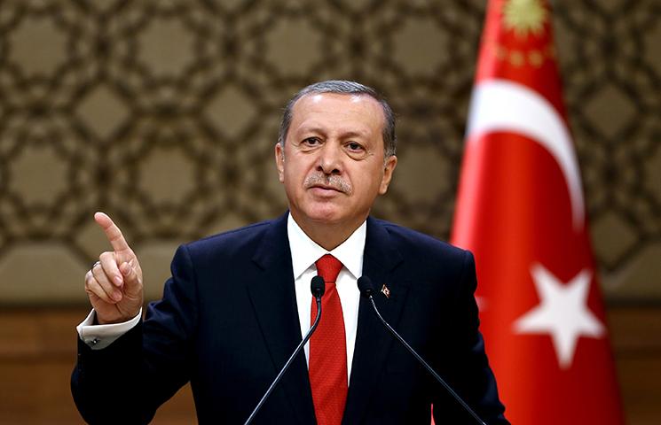 Recep Tayyip Erdogan, Turska