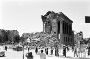 Skoplje, potres