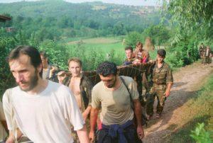 Srebrenica, Marš