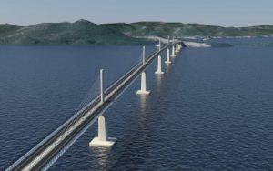 most, Pelješac