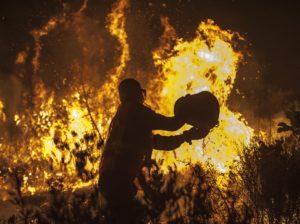požar, Split