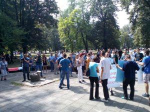 Banja Luka, protest