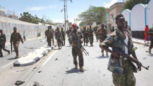 Somalija, rat