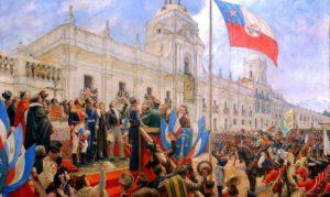 Čile, rat za nezavisnost
