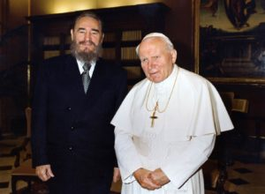 Fidel Castro i Ivan Pavao II