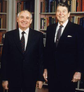 Mihail Gorbačov i Ronald Reagan