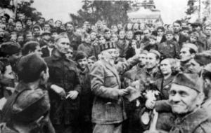Partizani oslobađaju Šibenik