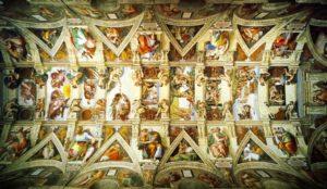 Sikstinska kapela, Michelangelo