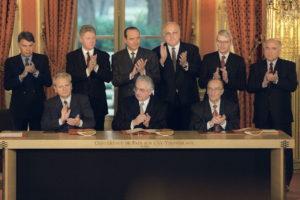 Daytonski mirovni sporazum, Pariz