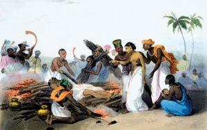 Indija, spaljivanje udovica