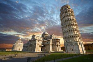 Krivi toranj u Pisi, Torre di Pisa