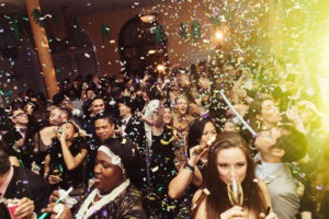 Nova godina, ljudi, sreća