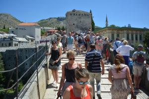 Mostar, turisti