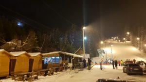 Ponijeri, noćno skijanje