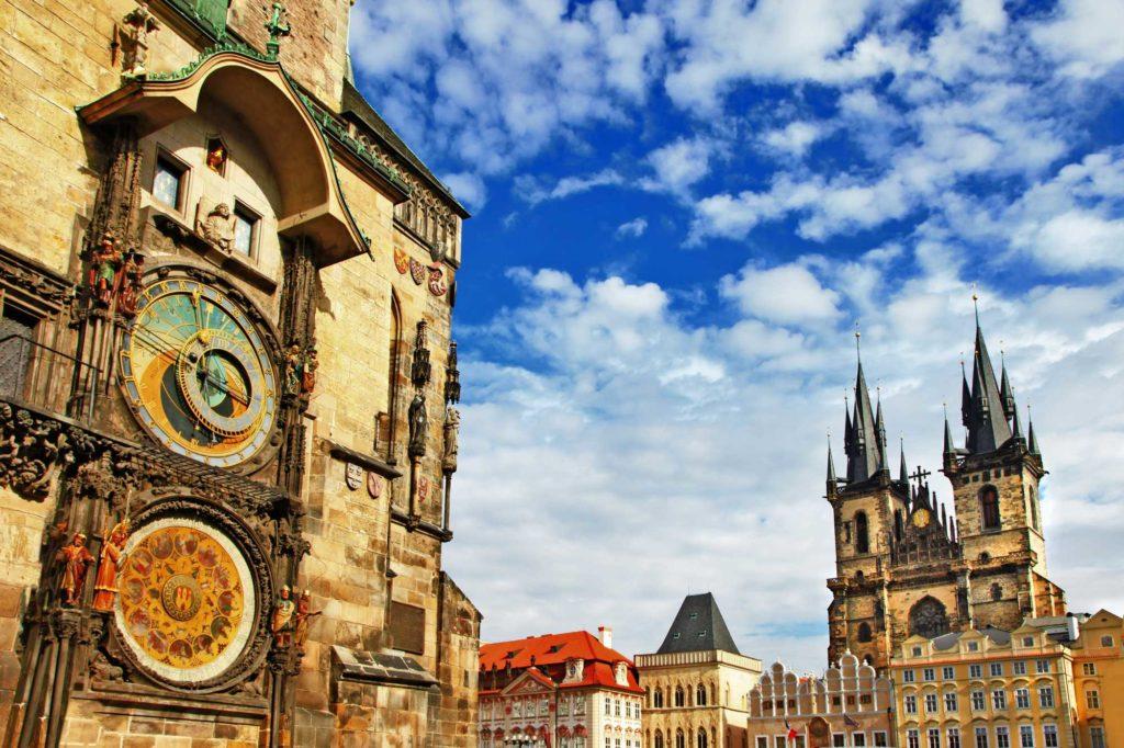 Pražský orloj, sat, Prag, Češka