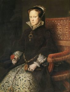 Mary Prva Tudor, Krvava Mary