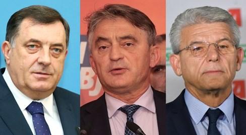 izbori, Milorad Dodik, Željko Komšić, Šefik Džaferović