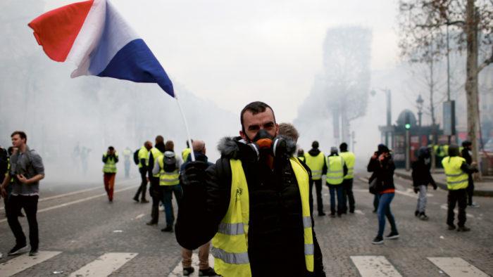 Pariz, protest