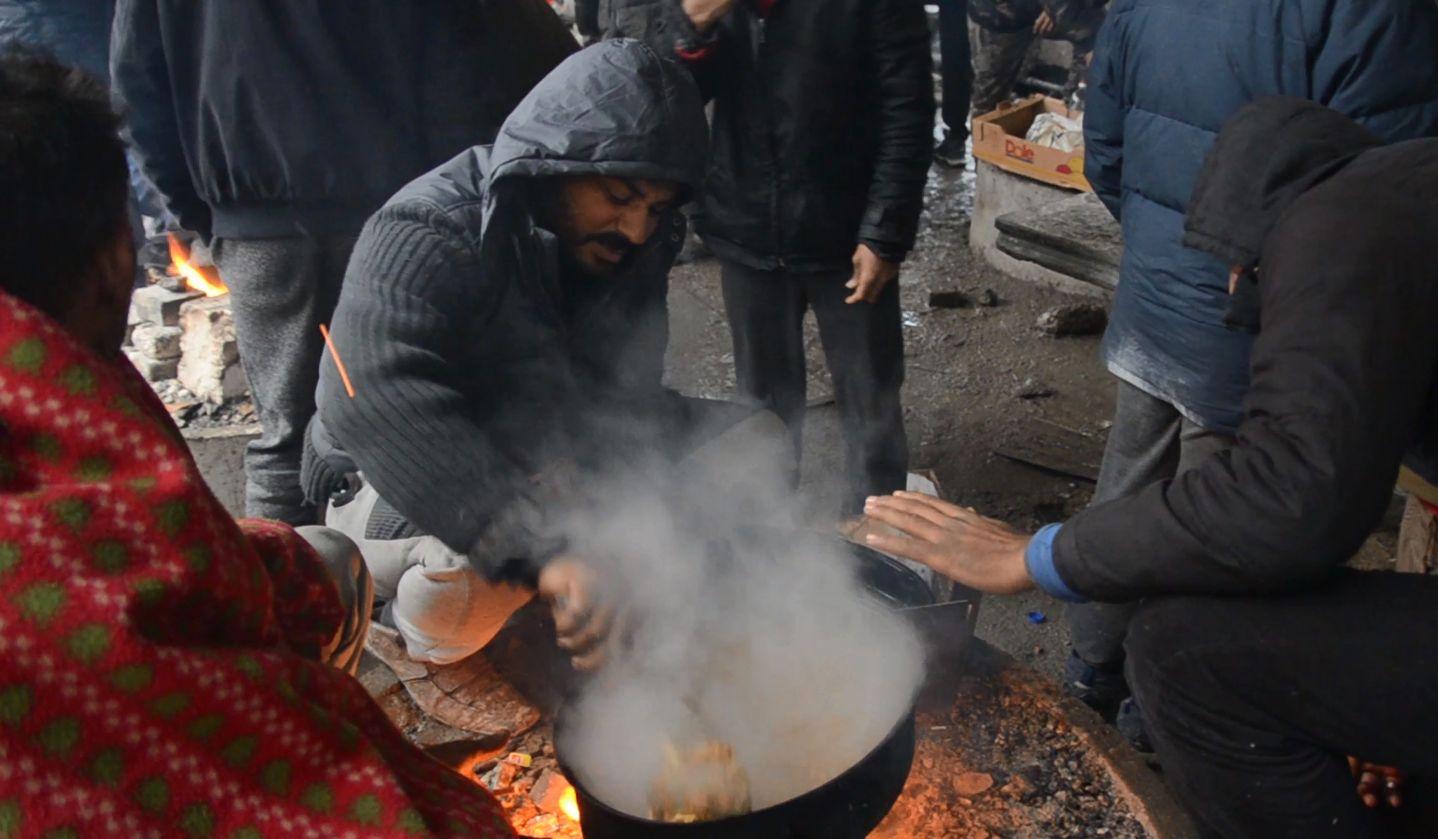 migranti, hrana, Bihać