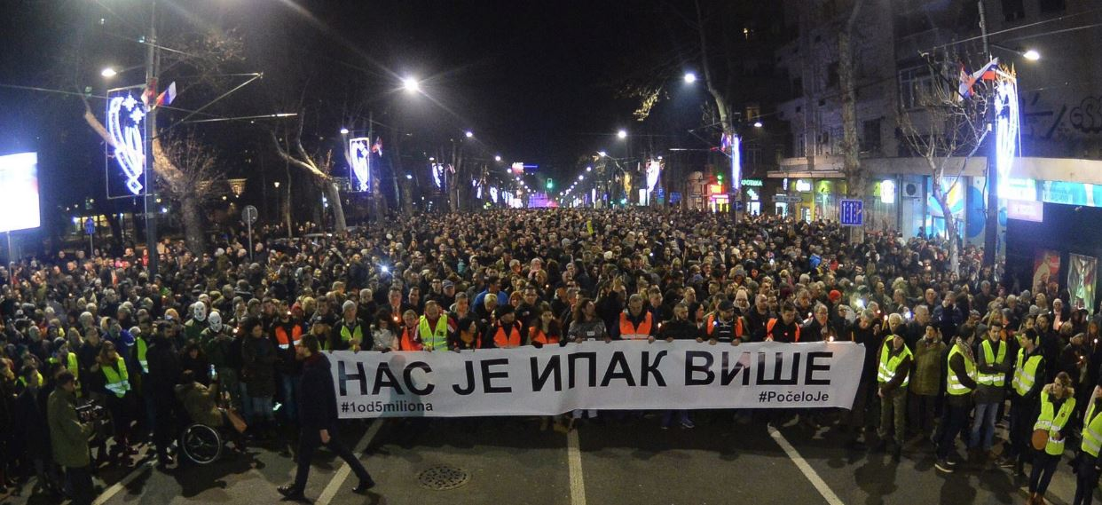 Beograd, protest