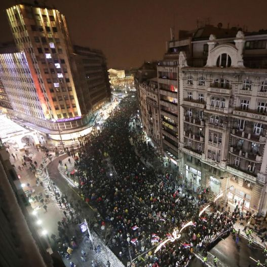 Beograd, protest